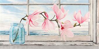 Cuadro canvas magnolia