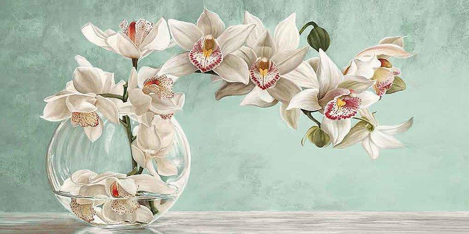 Cuadro canvas orchid