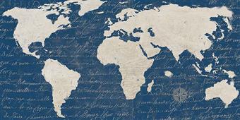 Cuadro canvas geoblueprint special