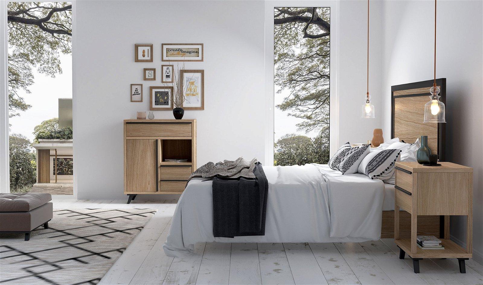 Dormitorio nórdico Borgen III
