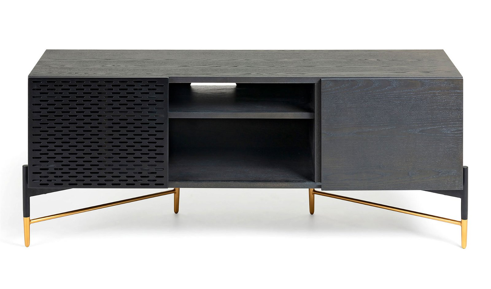 Mueble tv 2 puertas vintage Milian