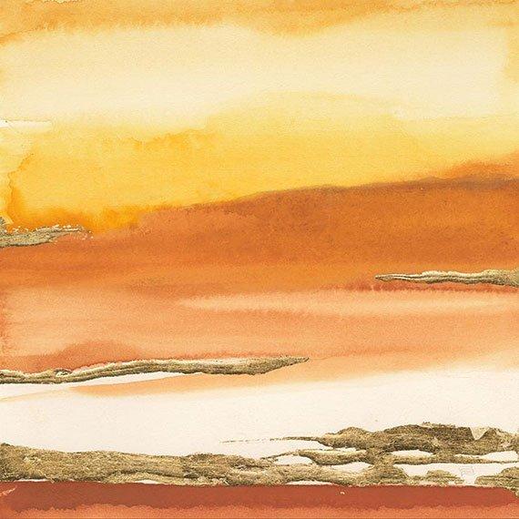 Cuadro canvas gilded amber I