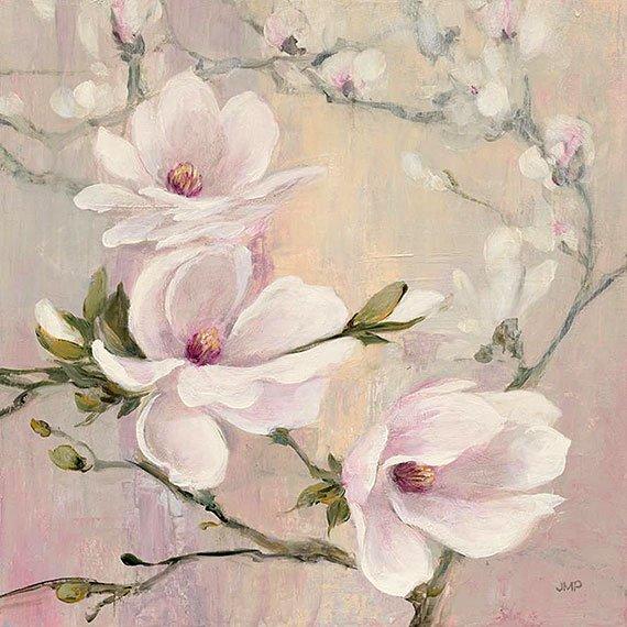 Cuadro canvas blushing magnolias