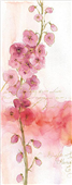 Cuadro canvas abstract floral I