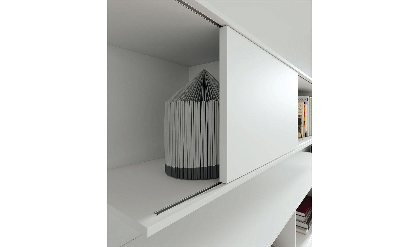 Mueble tv blanco lacado Hiromi