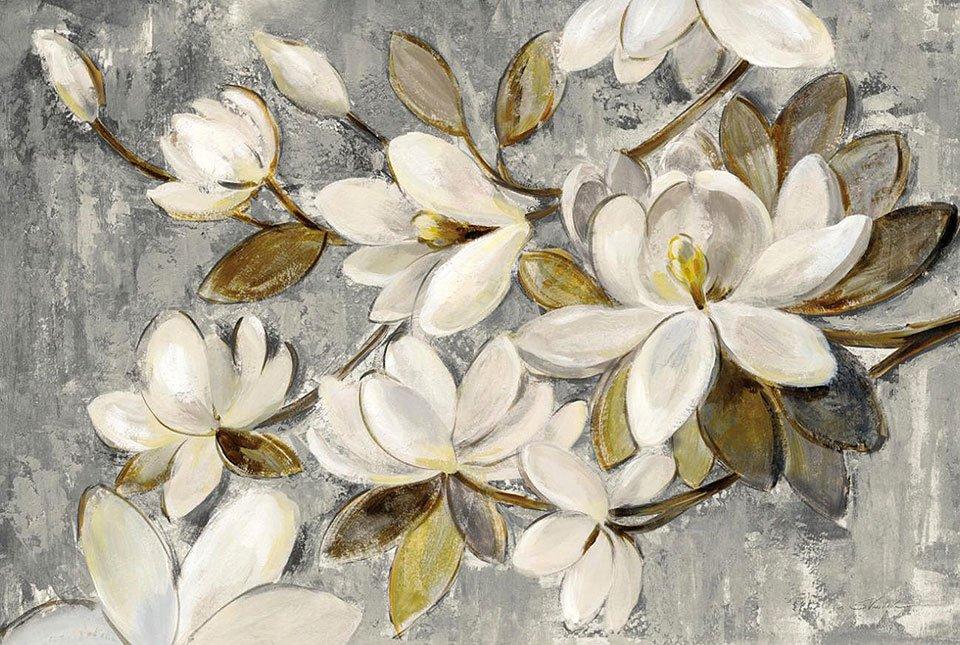 Cuadro canvas magnolia simplicity