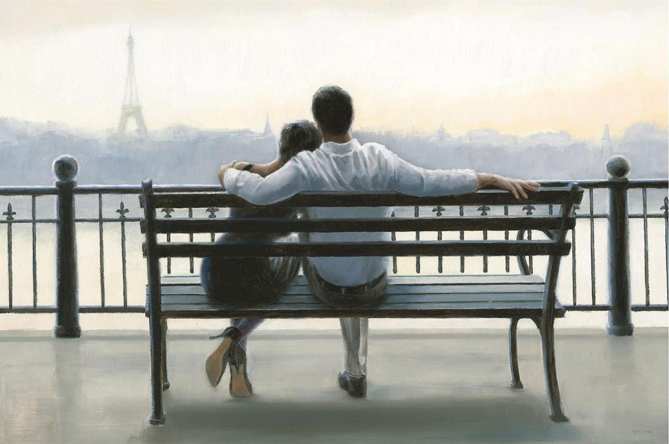 Cuadro canvas parisian afternoon