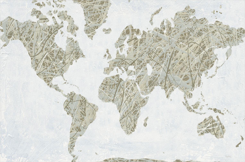 Cuadro canvas spinning world