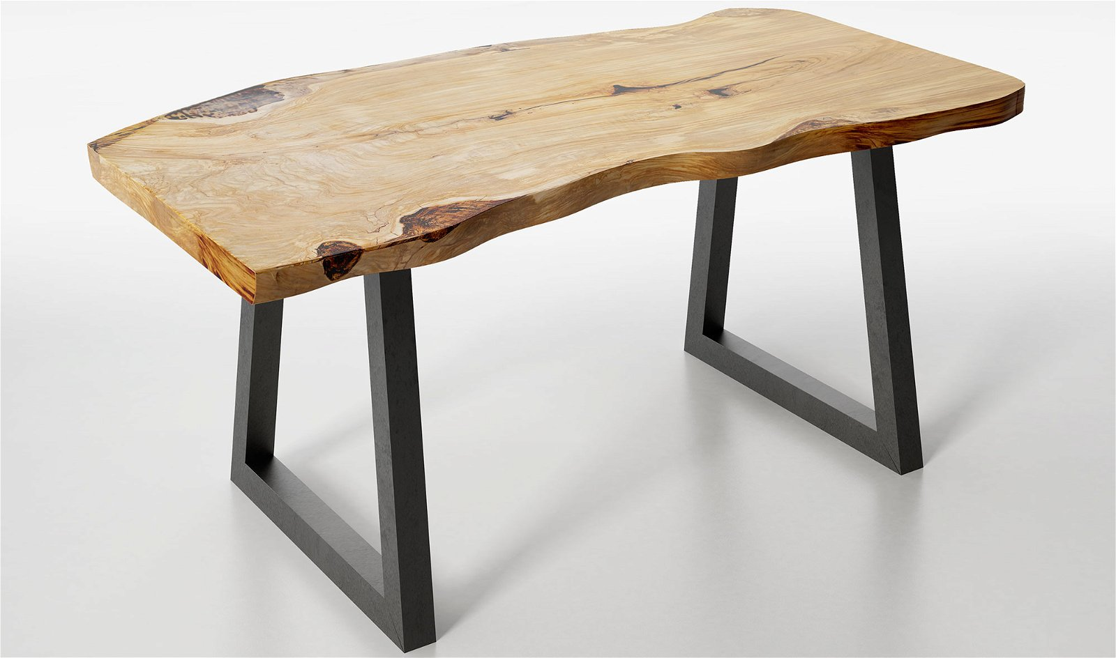 Mesa de escritorio madera maciza olivo Sibiu