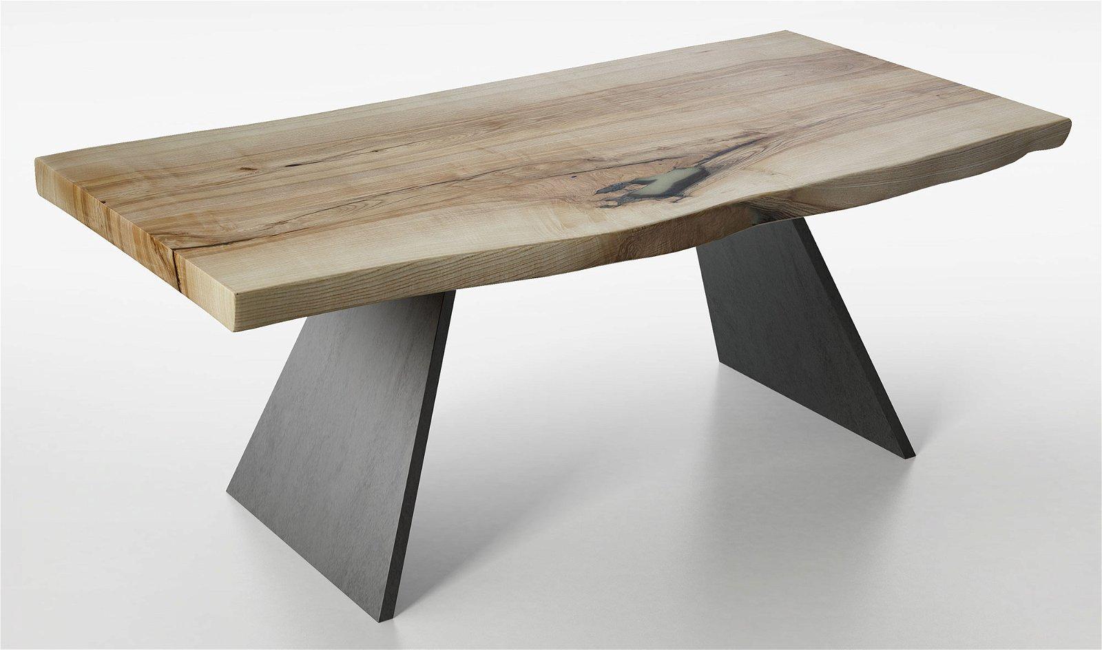 Mesa de comedor madera maciza fresno Teleorman