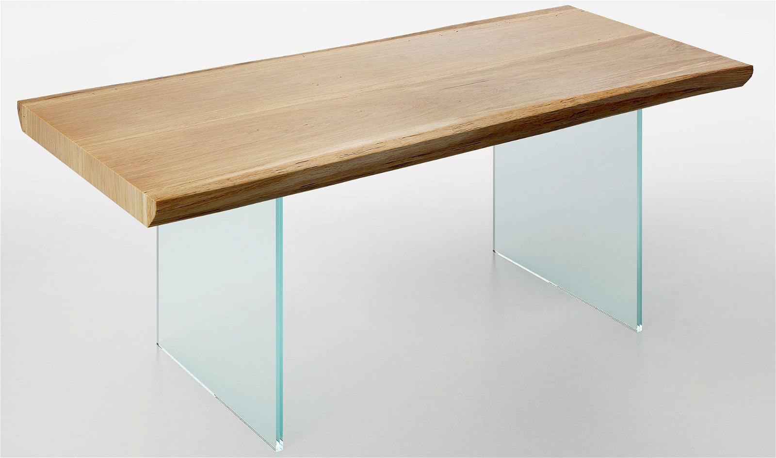 Mesa de comedor madera maciza roble Teleorman