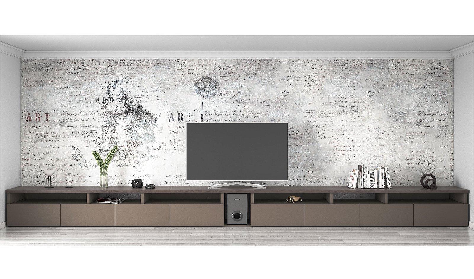 Mueble tv nogal canaletto Basti