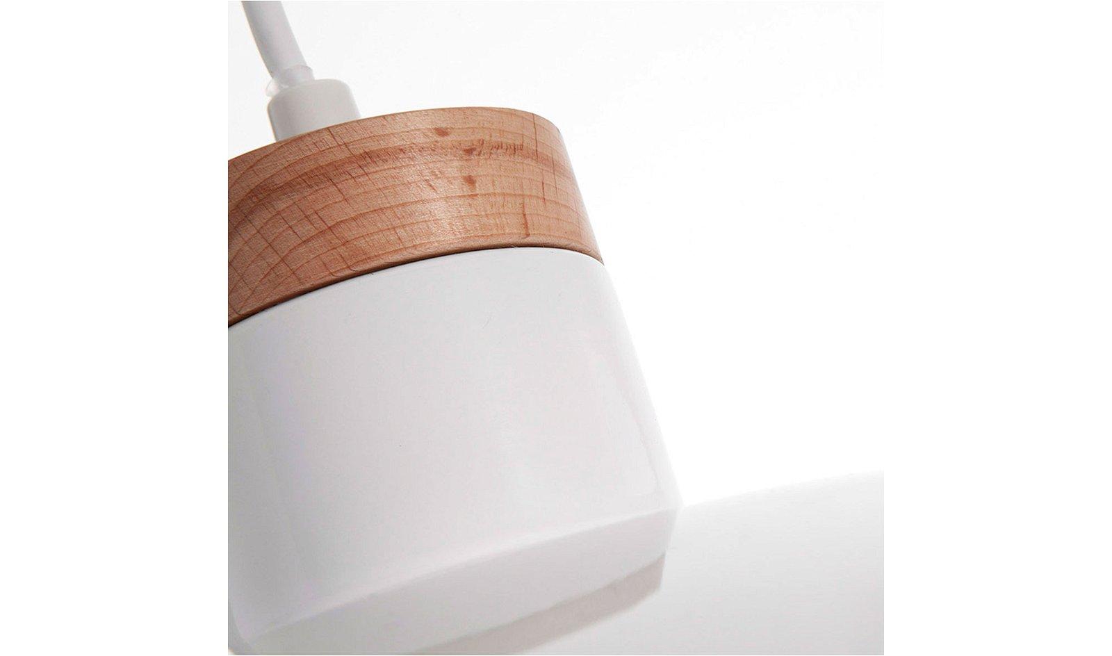 Lámpara de techo Margot blanca