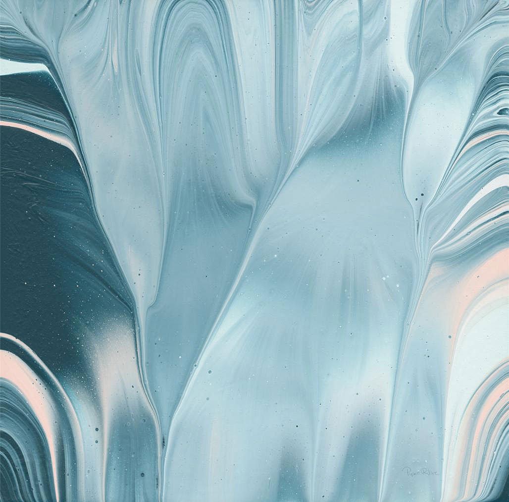 Cuadro canvas flowing water II