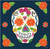 Cuadro canvas day of the dead I