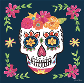 Cuadro canvas day of the dead II