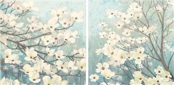 Pareja de cuadros blossoms