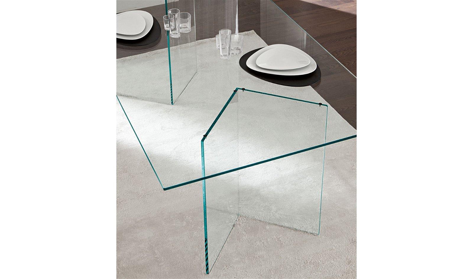 Mesa de comedor cristal Bacco Tonelli