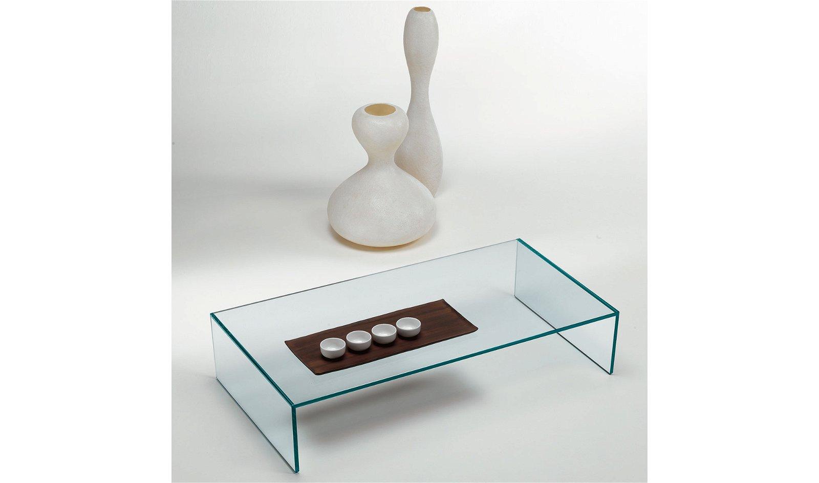 Mesa de centro cristal Eden Tonelli