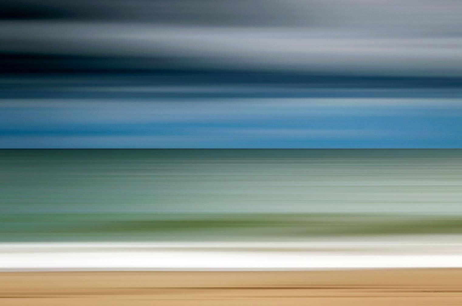 Cuadro canvas ocean storm
