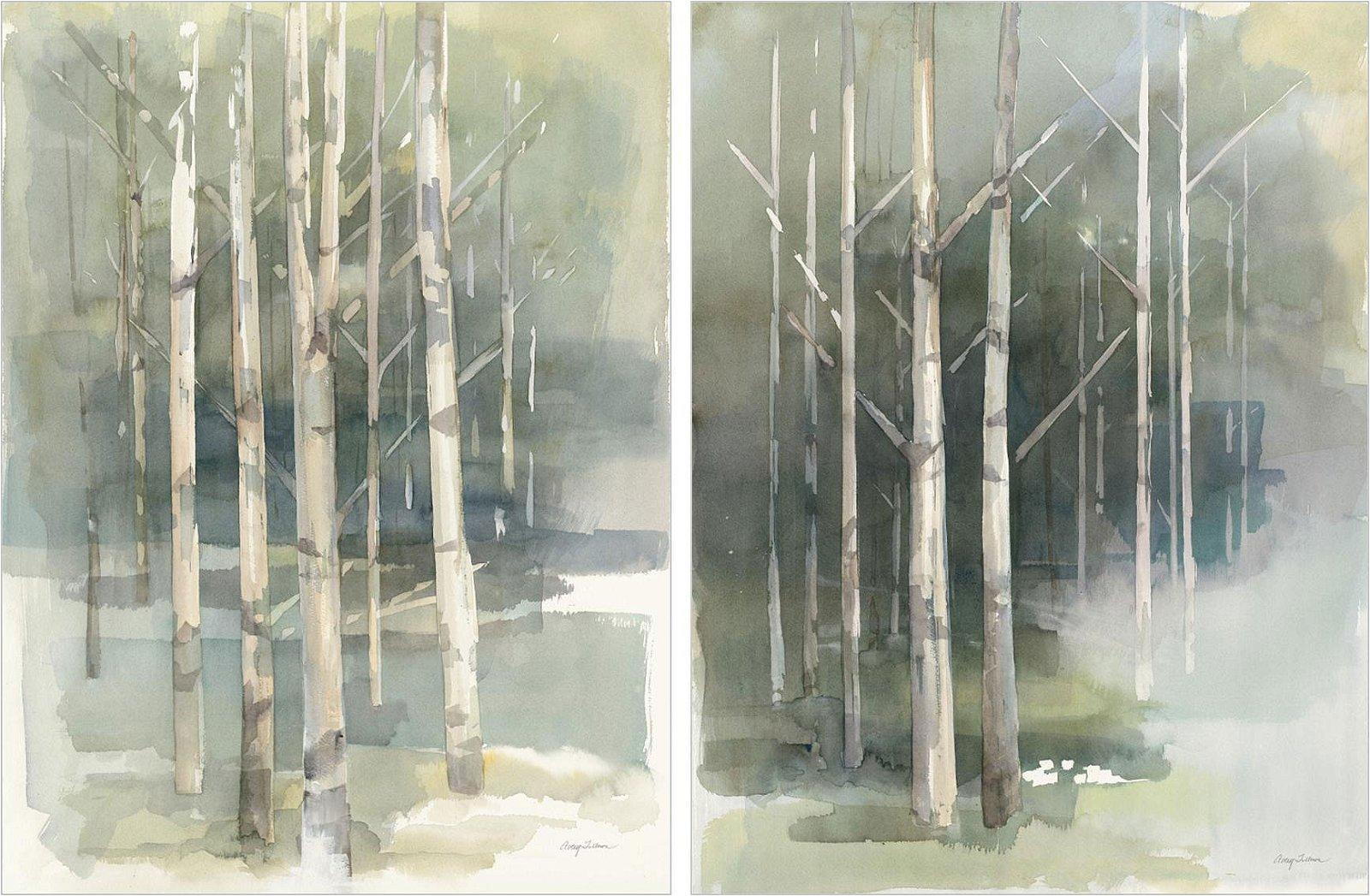 Cuadro canvas birch grove