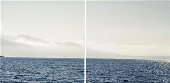 Cuadro canvas coastal scene