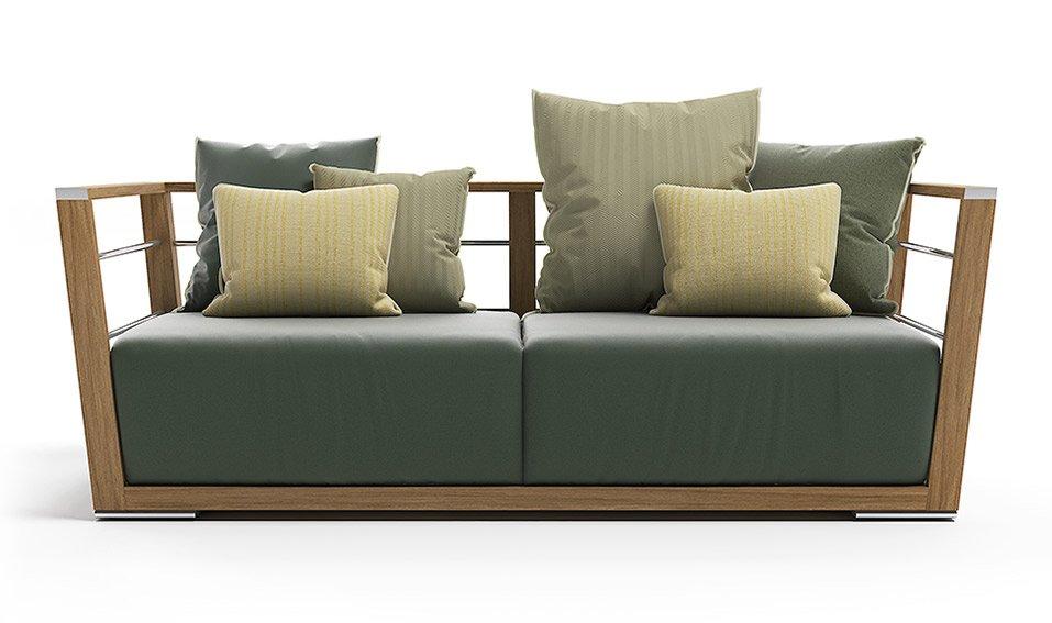 Sofá de jardín Braceme