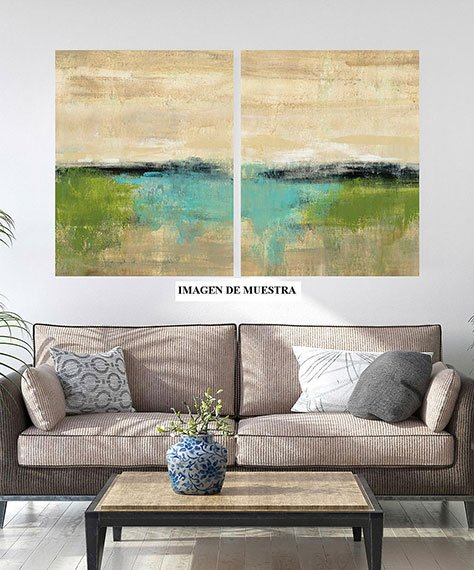 Cuadro canvas spring valley