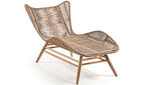 Chaise longue de jardín Zabel