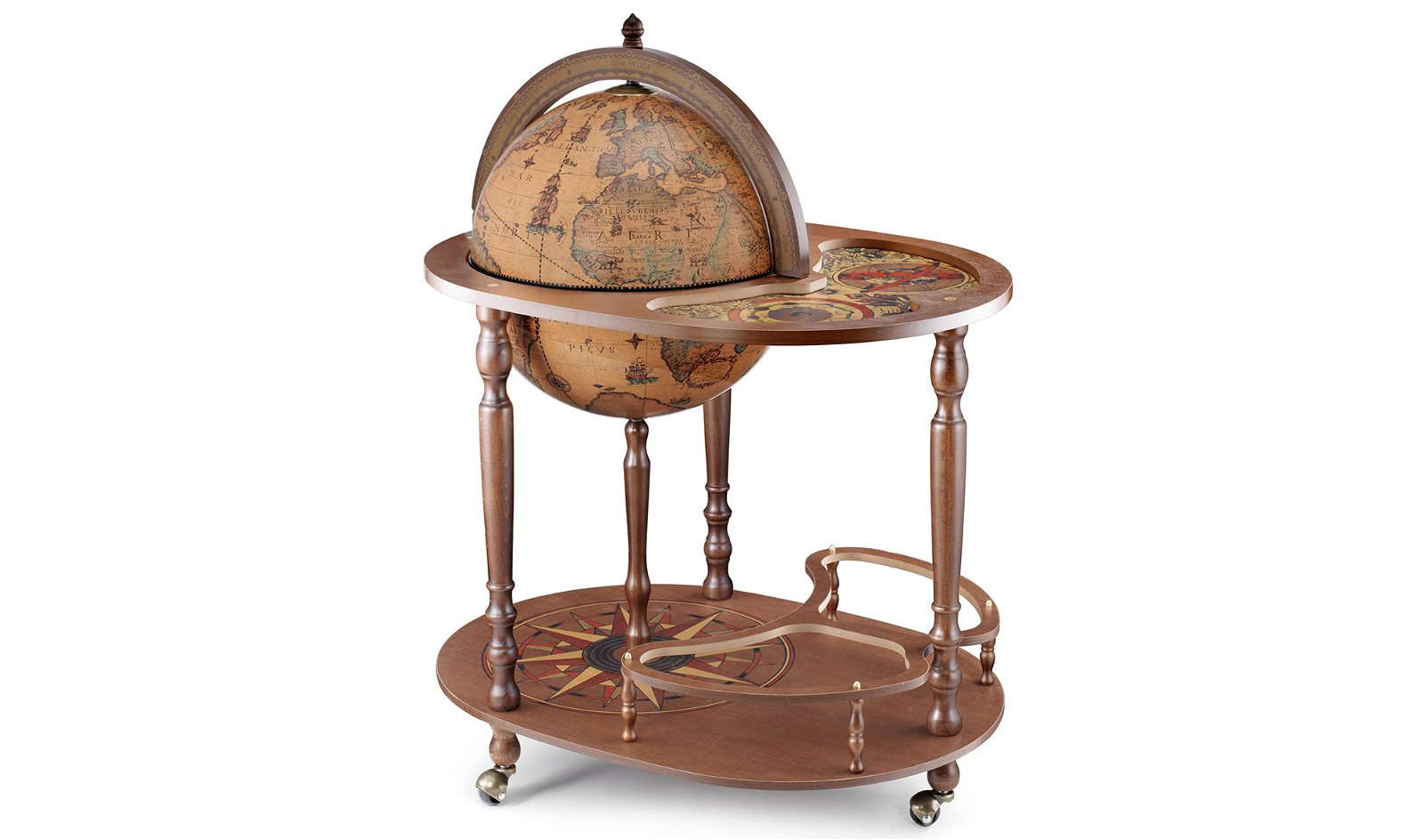 Mueble bar globo terráqueo Giasone