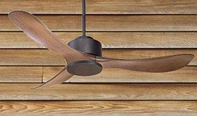 Ventilador 3 palas de madera Signes