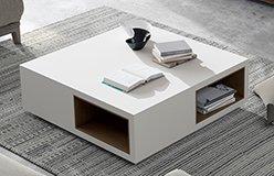 Mesa de centro de madera Dubra