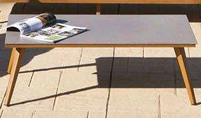 Mesa de centro de jardín Recinflo