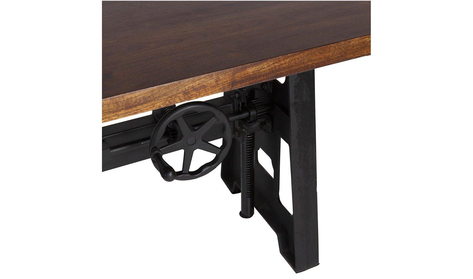 Mesa de escritorio regulable industrial Pipa