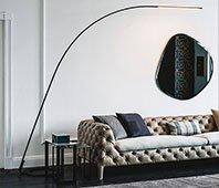 Lámpara de pie Lampo Cattelan