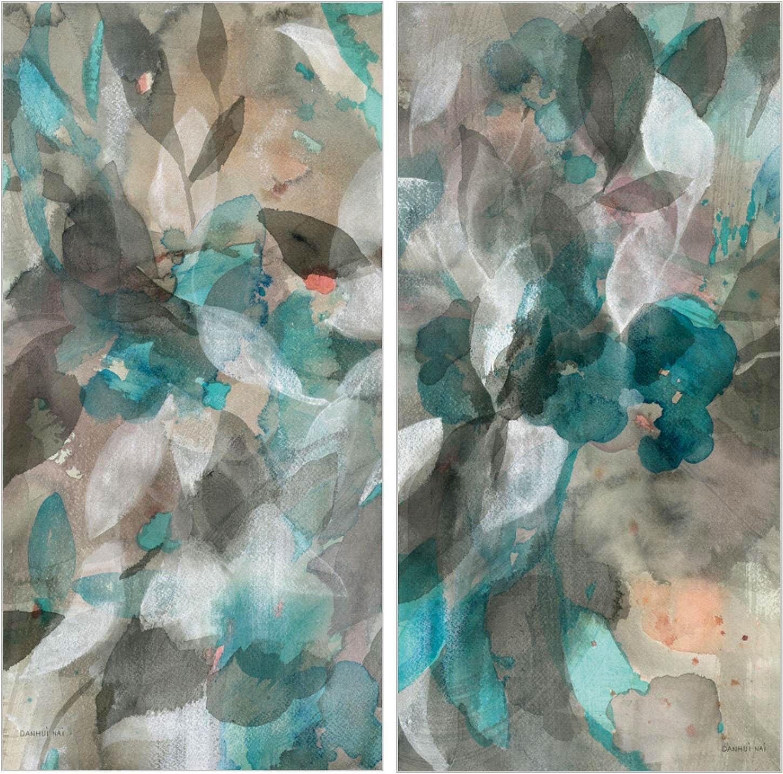 Pareja de cuadros abstract nature