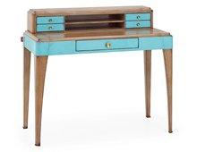 Mesa de escritorio 5 cajones vintage Bolton