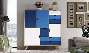 Aparador PANTONE 19_4052 Classic Blue Bosco