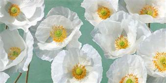 Cuadro canvas poppy arrangement