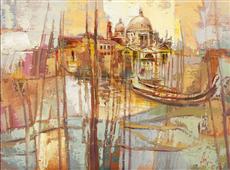 Cuadro canvas colori di venezia
