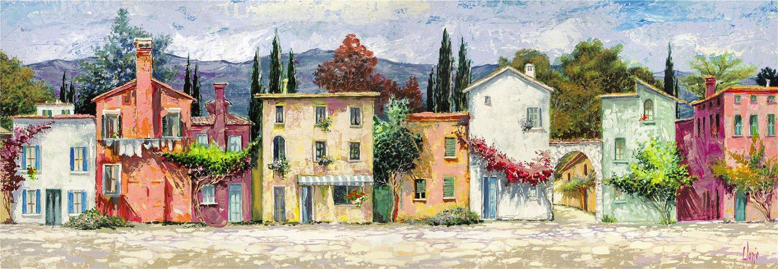 Cuadro canvas paese italiano
