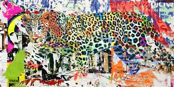 Cuadro canvas camouflage I