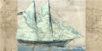 Cuadro canvas sailing to the seas