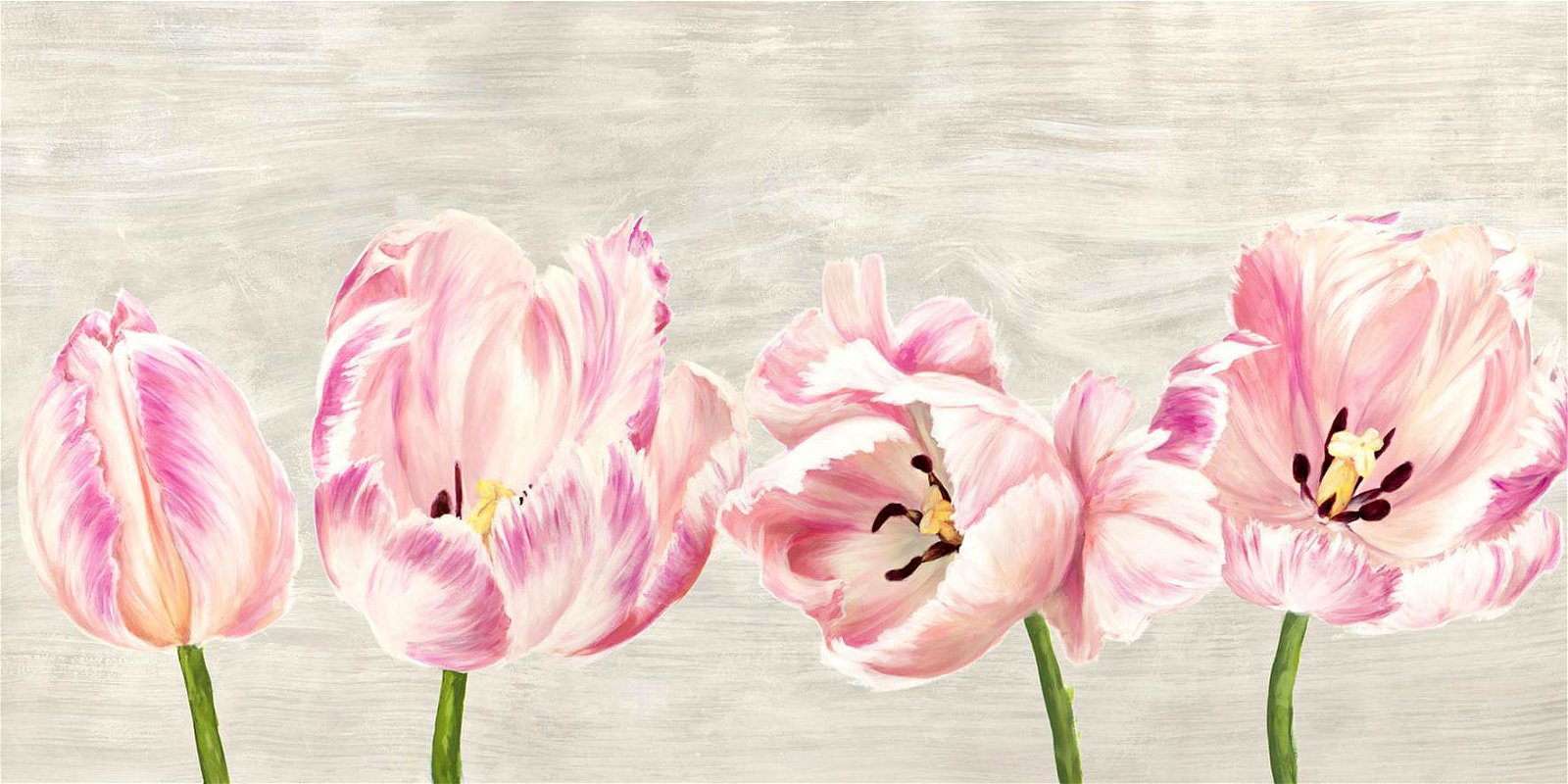 Cuadro canvas classic tulips
