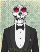 Cuadro canvas the modern gentleman 2