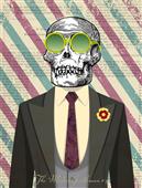 Cuadro canvas the modern gentleman 4
