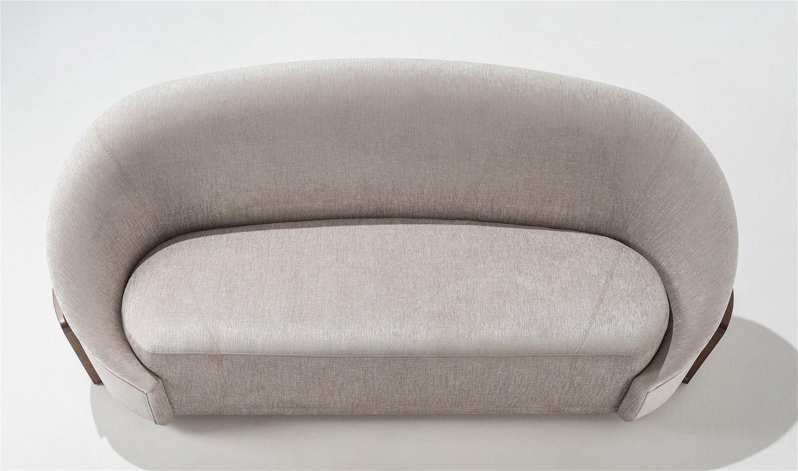 Sofá curvo moderno Rumba Adriana Hoyos