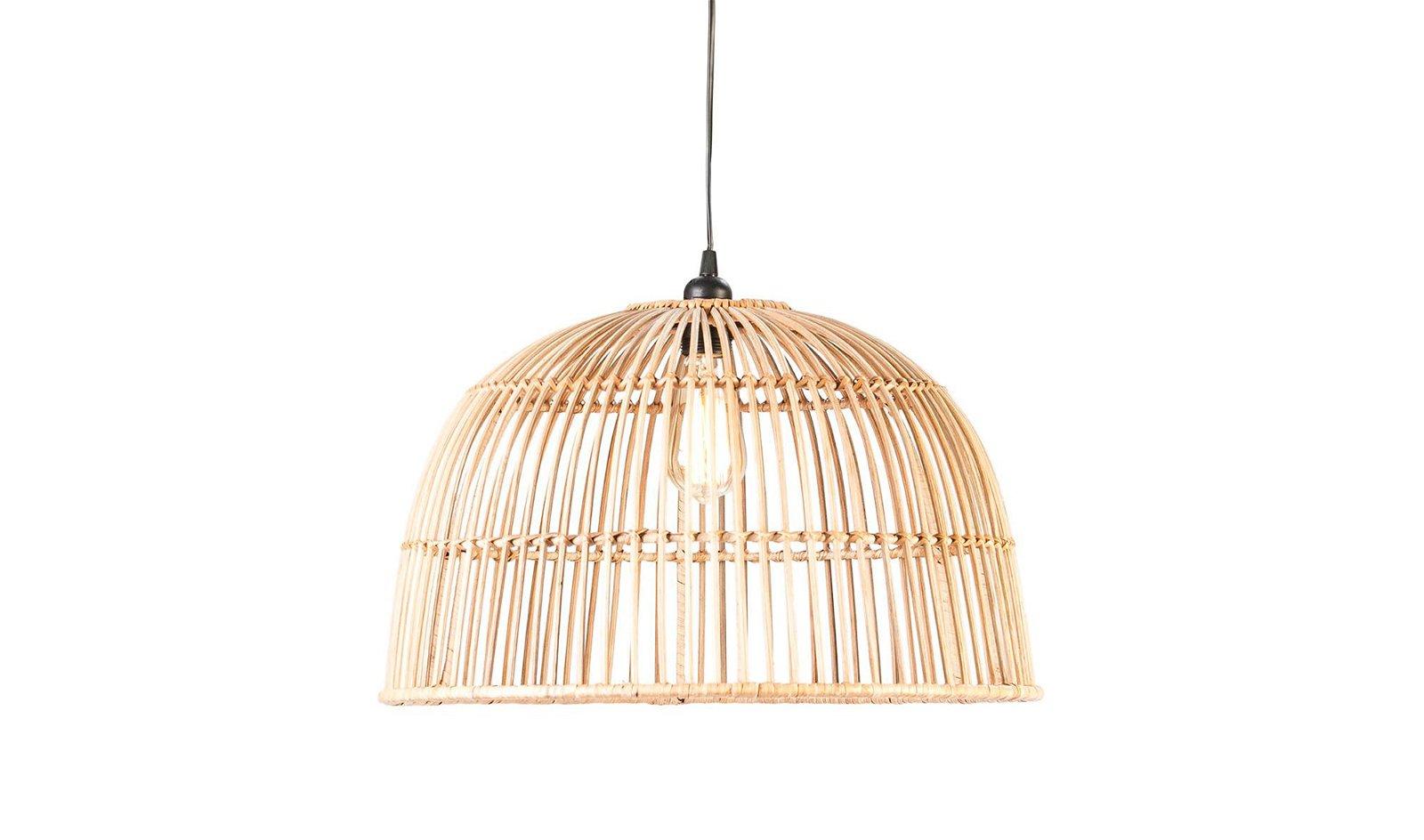 PORTOBELLO lámpara de techo mimbre natural