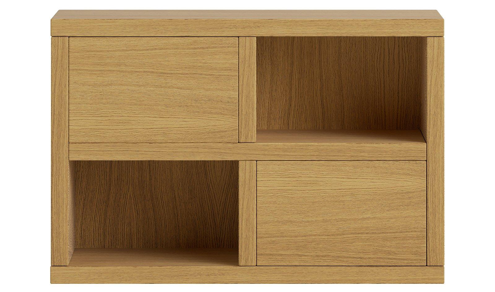 Mueble auxiliar pequeño 2 puertas nórdico Sendai