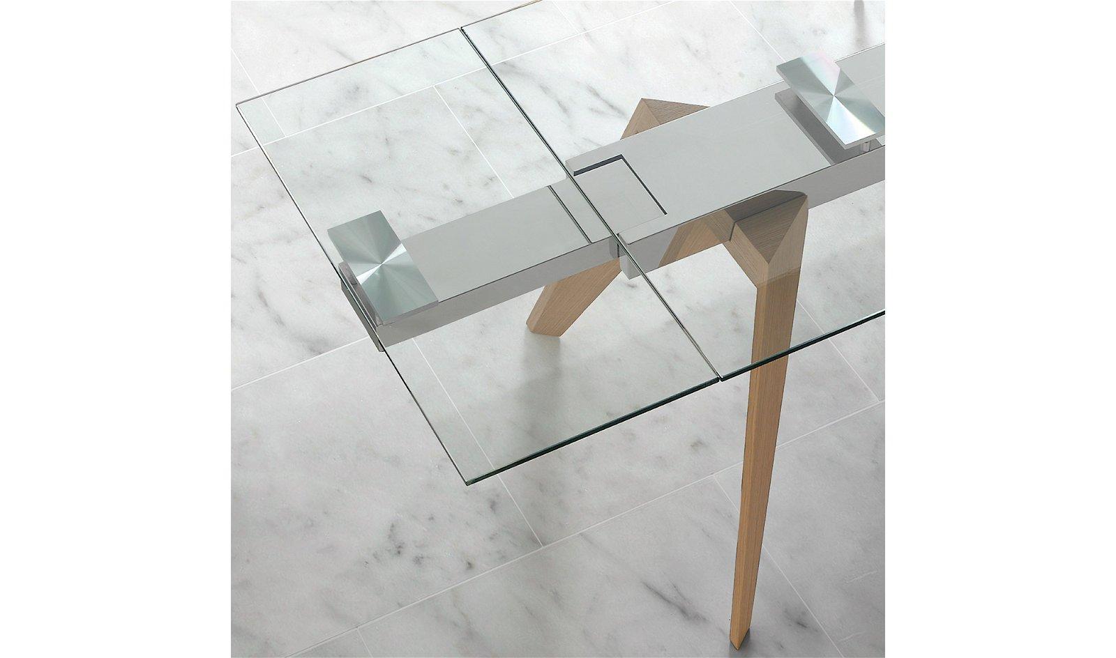 Mesa de comedor extensible madera Tolova